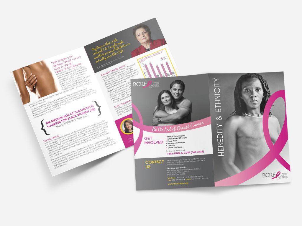 BCRF Brochure Mockup Design