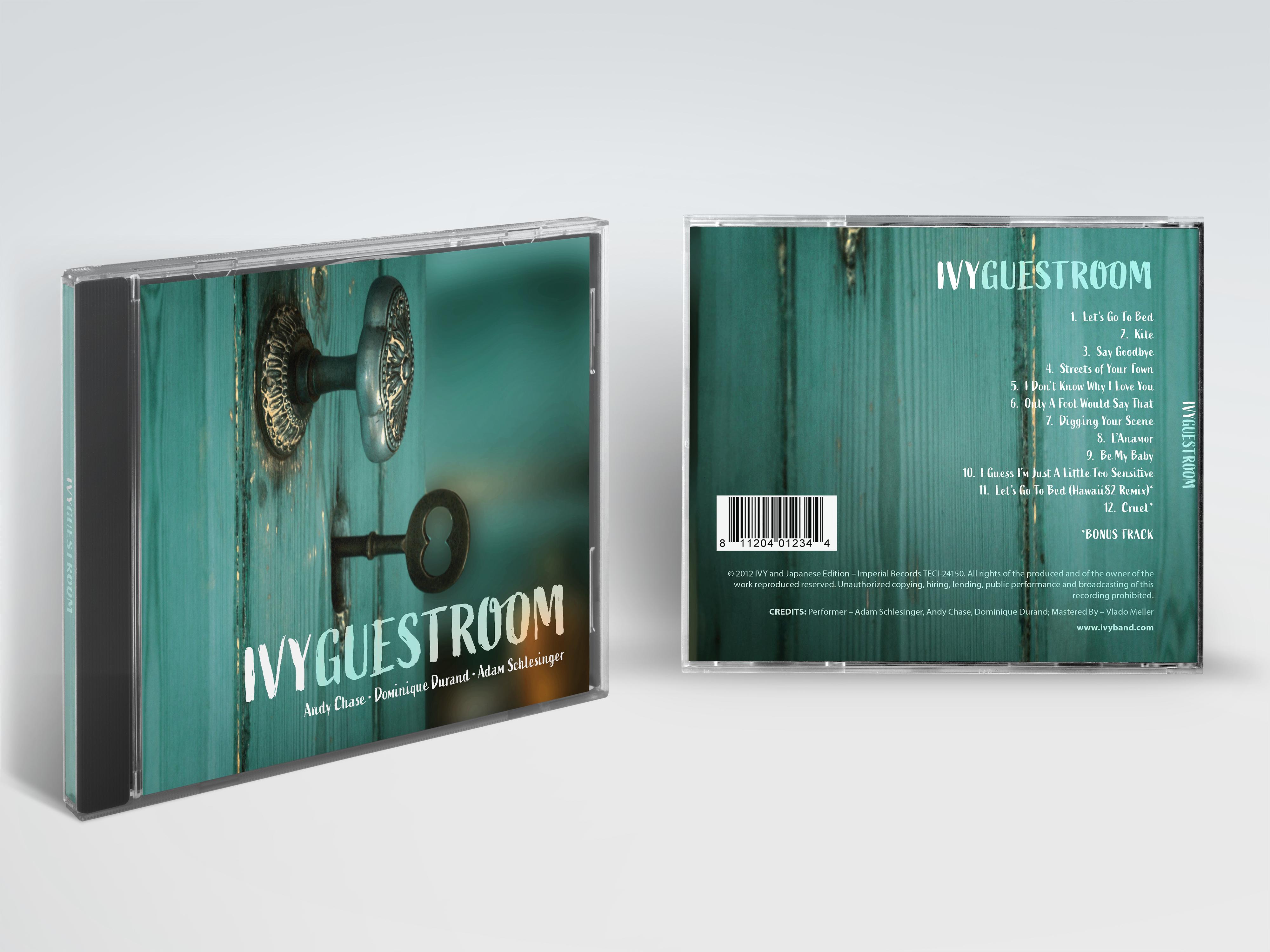 Ivy Album Cover Mockup