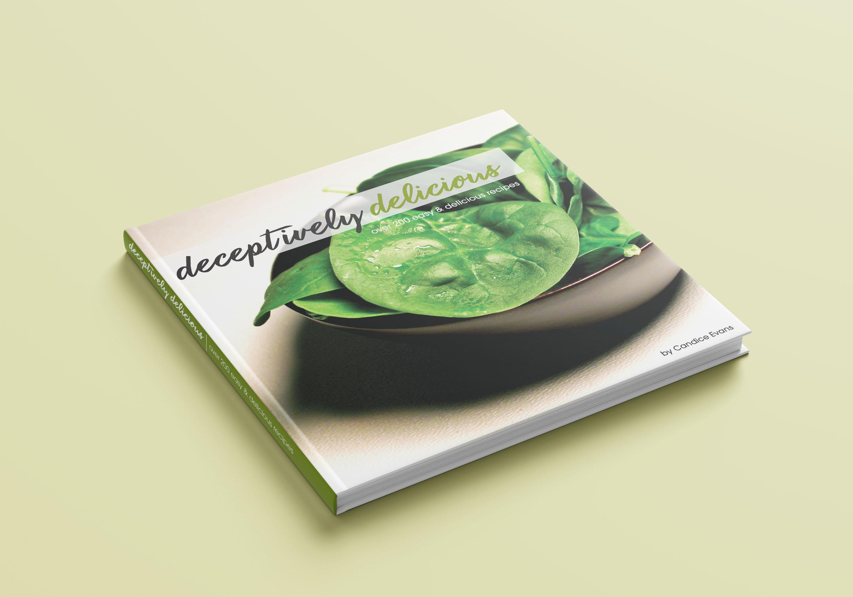 Deceptively Delicious Book Cover Design