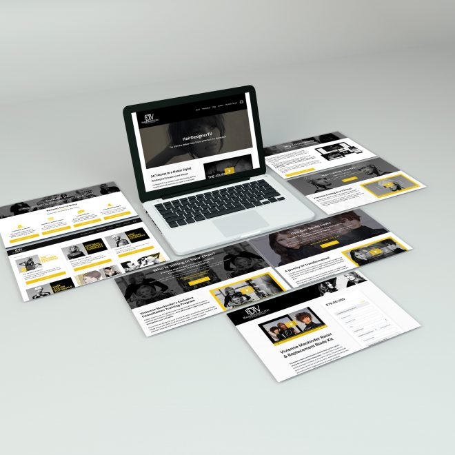 Web Screen PSD Mockup
