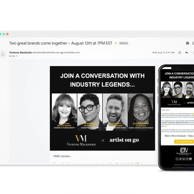 Live Webinar Announcement - Email Campaign