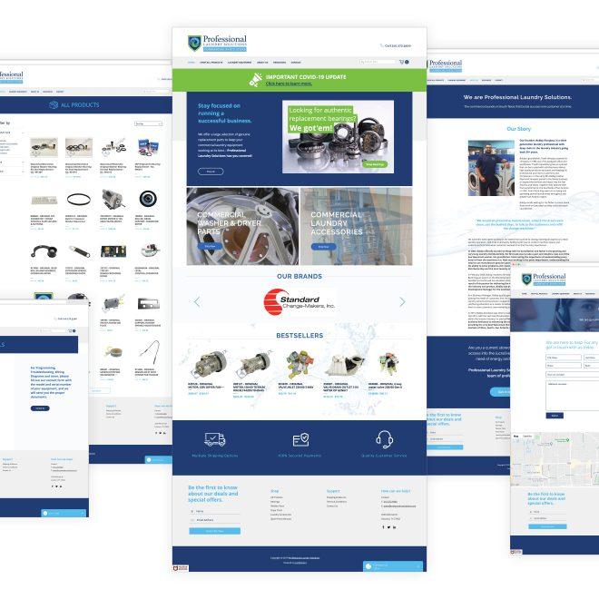 PLS Website Pages
