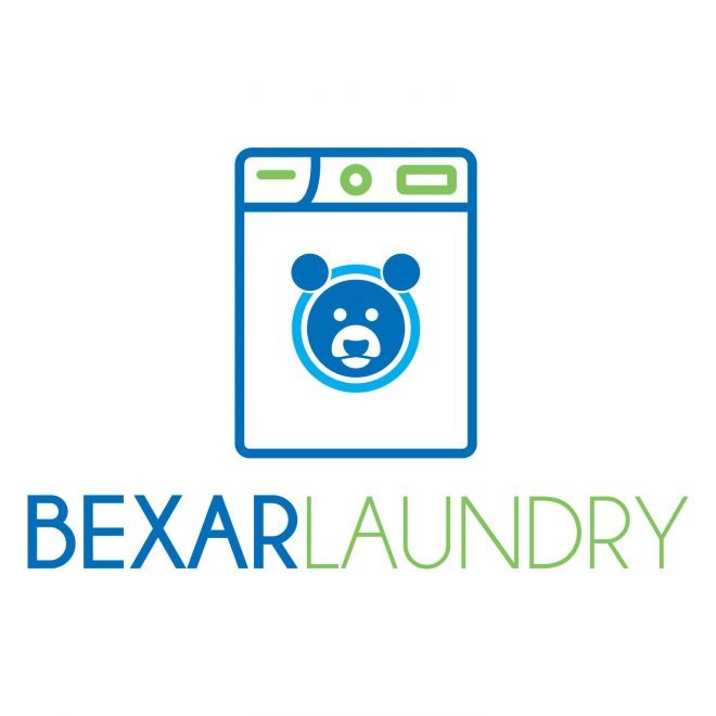Bexar Laundry Logo Design