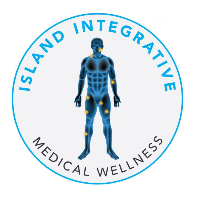 Island Integrative Medical Wellness Logo Design