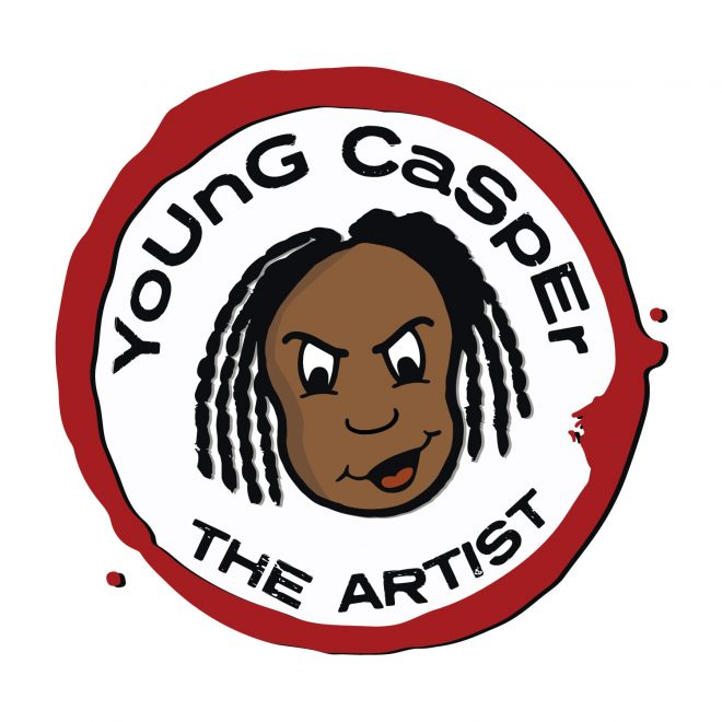 Young Casper The Artist Logo Design