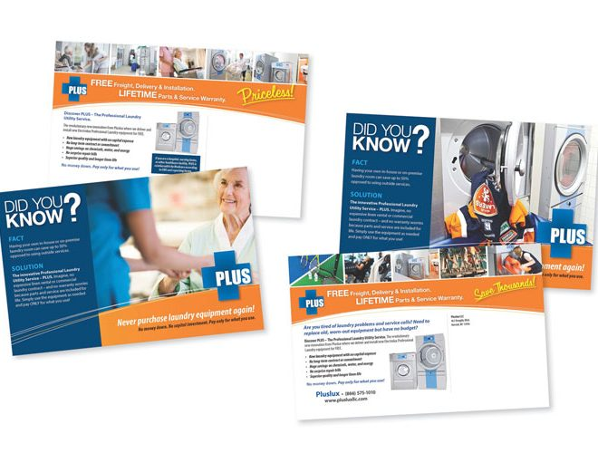 PLUS Direct-Mailers Campaign