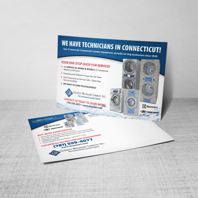 Commercial Laundry Direct-Mail Campaign
