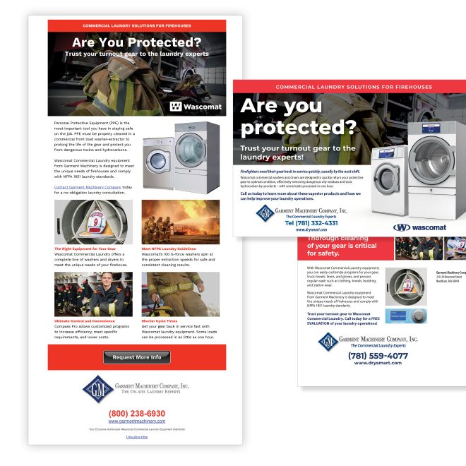Email Newsletter & Direct-Mail OPL Campaign