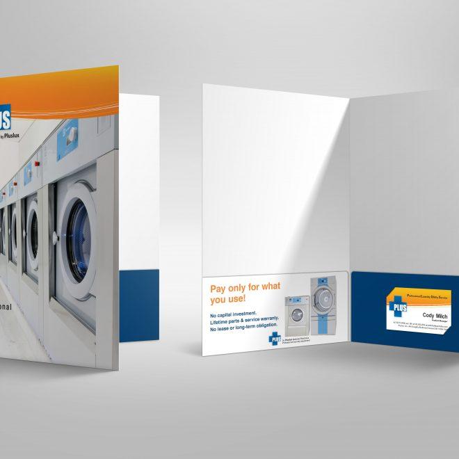 PLUS 2-Pocket Folder