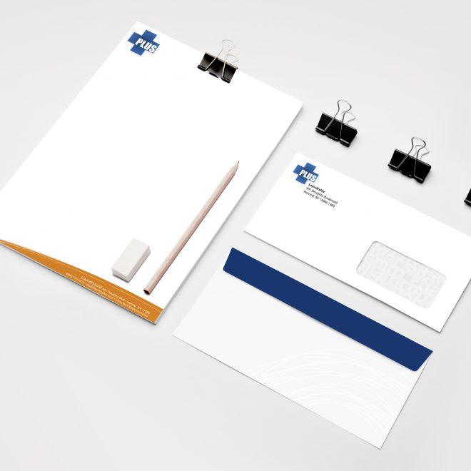 PLUS Letterhead  & Envelope